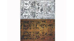 Misterio con astronautas mayas