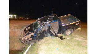 Descuido fatal. La conductora de la camioneta murió.