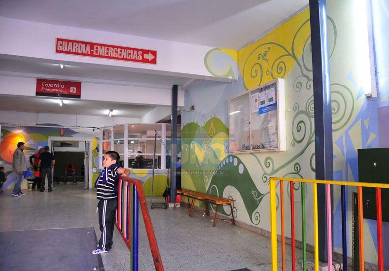 La niña está internada en el hospital San Roque. Foto UNO/Archivo