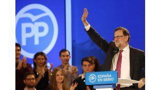 Rajoy sale primero