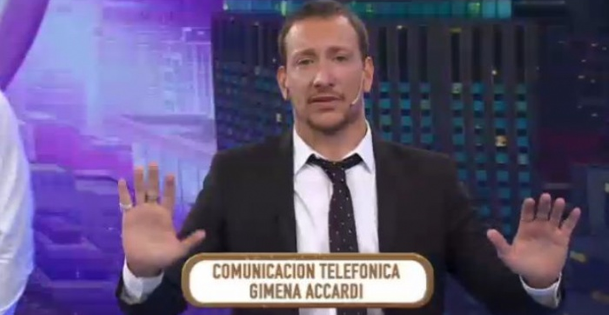 Gimena Accardi mandó al frente a Nicolás Vázquez