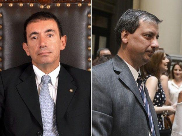 Domingo Sesín y Eugenio Sarrabayrouse