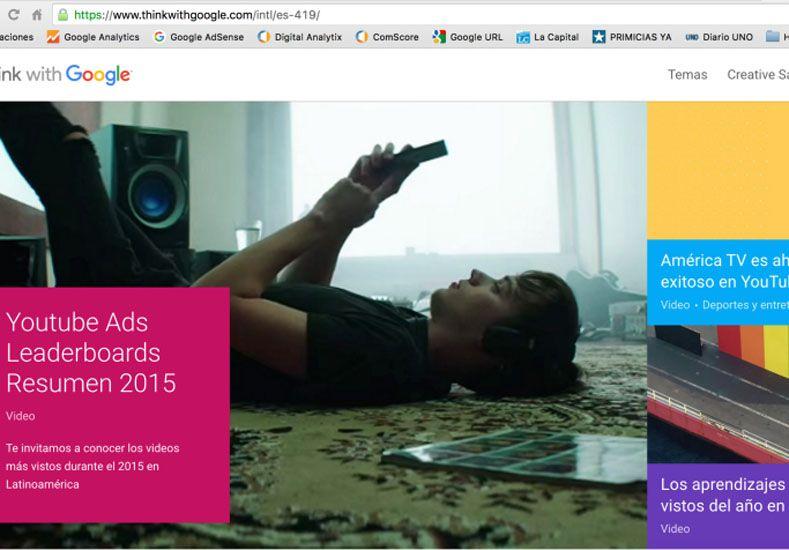 Google reconoce a América TV como el medio más exitoso en su plataforma de videos