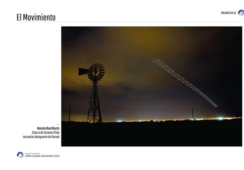 La imagen de Horacio Buschiazzo aparece en la página 3 del libro.