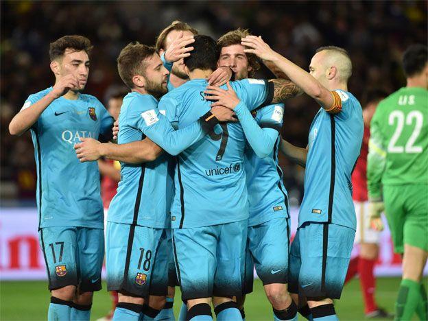 Barcelona alcanzó el récord de Boca