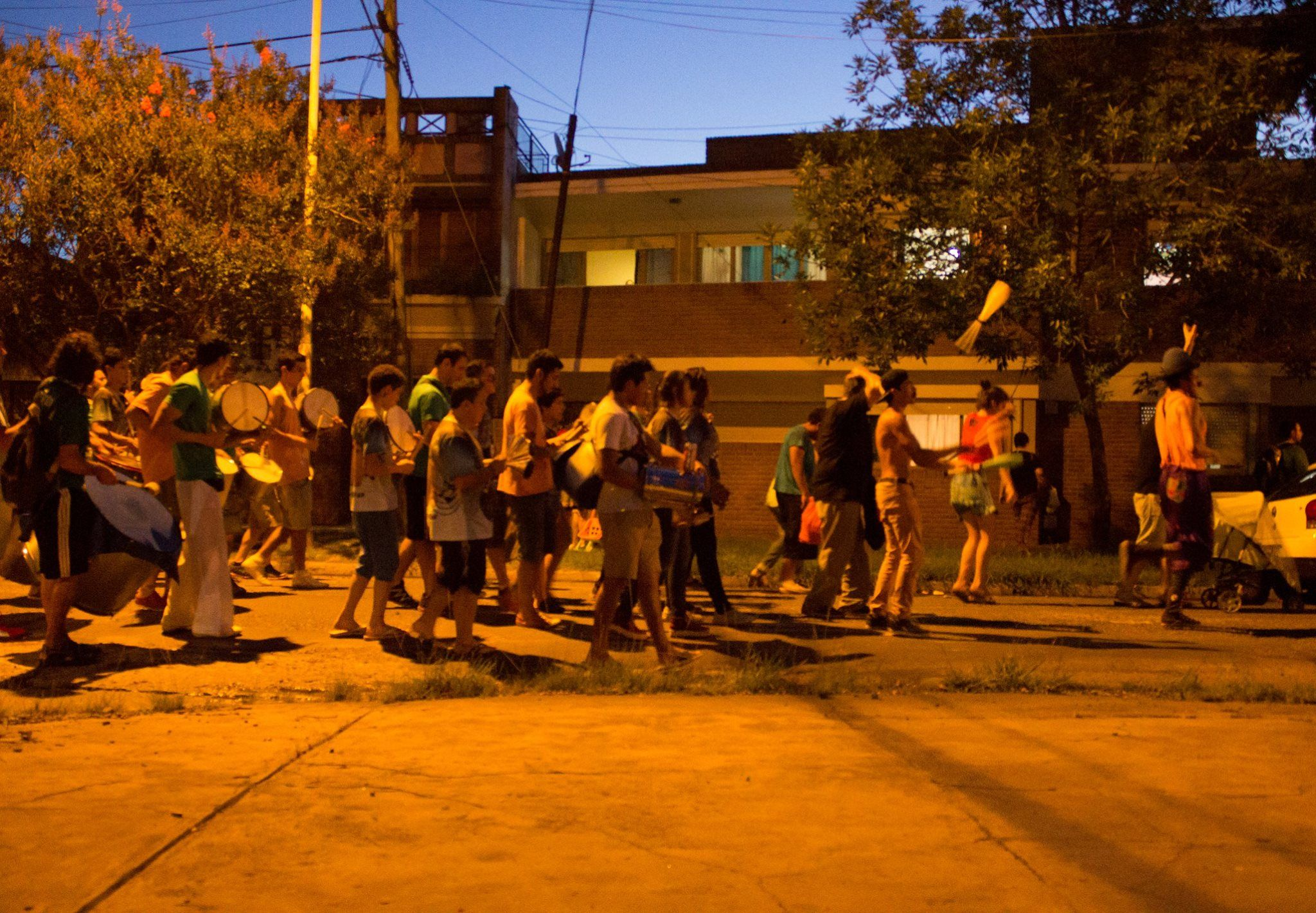 Llegando a La Moringa. Gentileza/Felipe Toscano