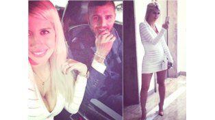 Icardi y Wanda en la cena de fin de año de Inter