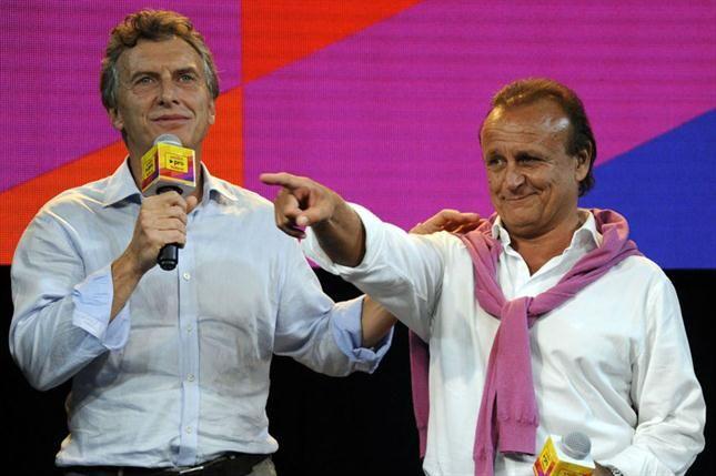 Macri y Del Sel