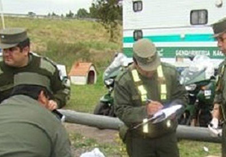 Gendarmería incautó mercadería sin aval aduanero valuada en 340 mil pesos