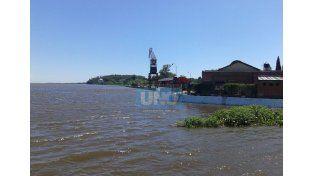 Imágenes del puerto de La Paz hoy.