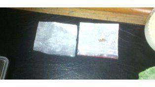 Estos son los paquetes de droga que le secuestraron a Moria Casán al ingresar a la cárcel