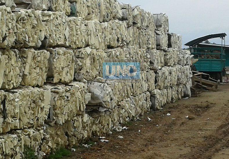 La planta de reciclado en Chajarí fabricará adoquines