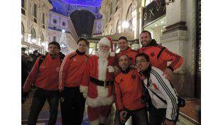 Los paranaenses en la ciudad de Milan