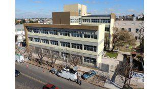 Obra necesaria. Tiene más de 3.000 metros cuadrados y albergará a 2.100 estudiantes.