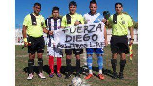 Unidos. En la Liga Paranaense expresaron su apoyo a Buschiazzo. Foto Gentileza/ LaLigaRadio.com