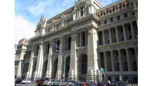 Corte Suprema de Justicia. Foto: Télam