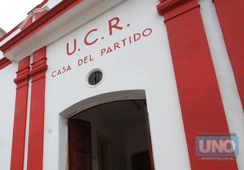 La UCR evalúa aplicar sanciones por inconducta partidaria