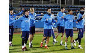 Barcelona entrenó en Japón
