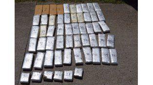 Incautaron 35 kilos de marihuana en el norte entrerriano