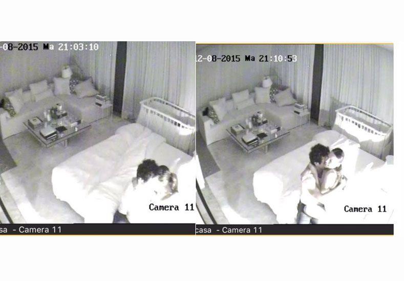 Pampita despechada publicó fotos de ella y Vicuña en la intimidad para comprobar que no estaban separados