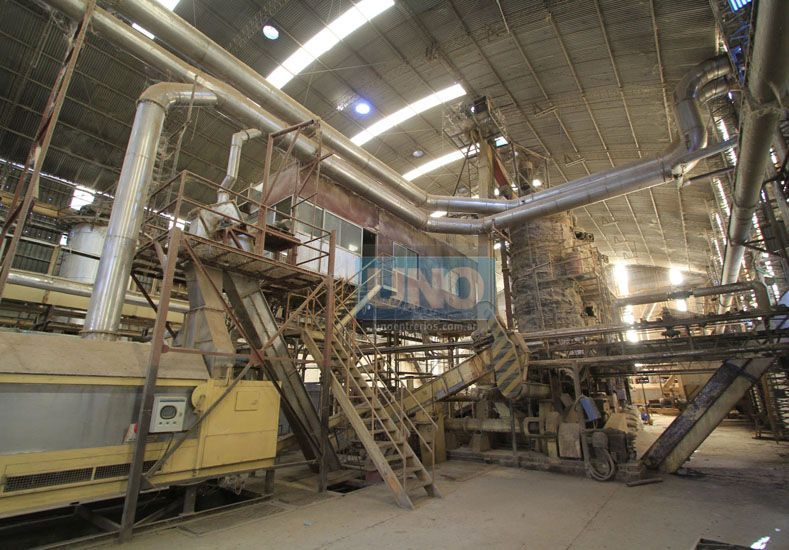 Desde setiembre. La fábrica está parada desde entonces.  Foto UNO/Juan Ignacio Pereira