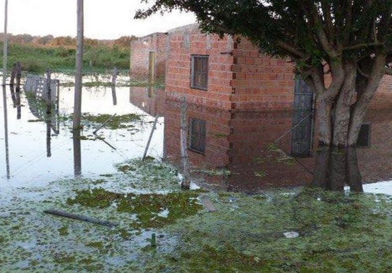 Ya hay más de 1.000 evacuados en Formosa por la crecida de los ríos Paraguay y Pilcomayo