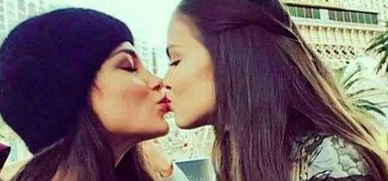 Dos Miss Universo se besan para combatir homofobia