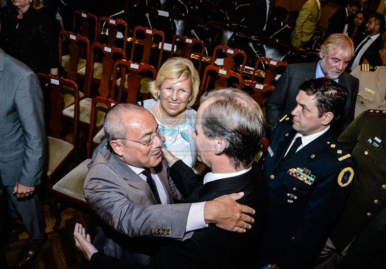 Fuera de protocolo: las mejores fotos de la asunción de Bordet