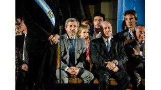 Frigerio destacó el llamado a la unidad de Bordet en su discurso de asunción
