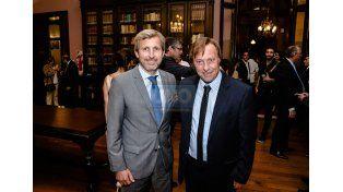 Frigerio con Sergio Varisco. (Foto: UNO/Mateo Oviedo)
