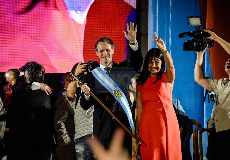 Búsqueda de consensos. La presencia de Frigerio se entendió como un gesto de predisposición al diálogo con el gobierno nacional.  (Foto: UNO/Mateo Oviedo)
