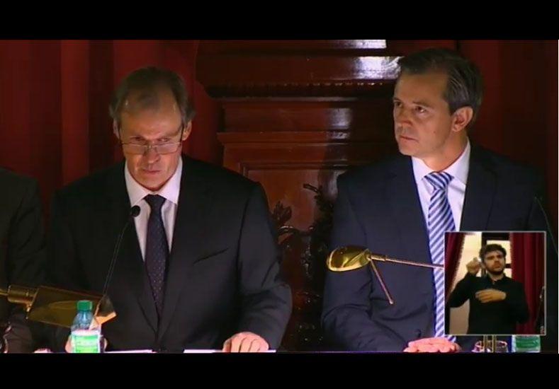 """Bordet: """"Me comprometo a dejar los mejores años de mi vida en pos del progreso de Entre Ríos"""""""