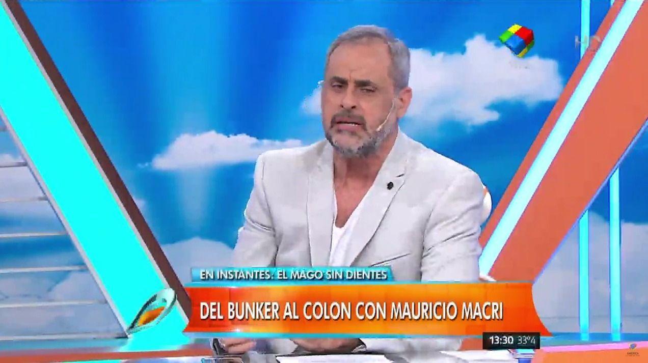 La salud de Jorge Rial: se descompuso mientras realizaba su programa