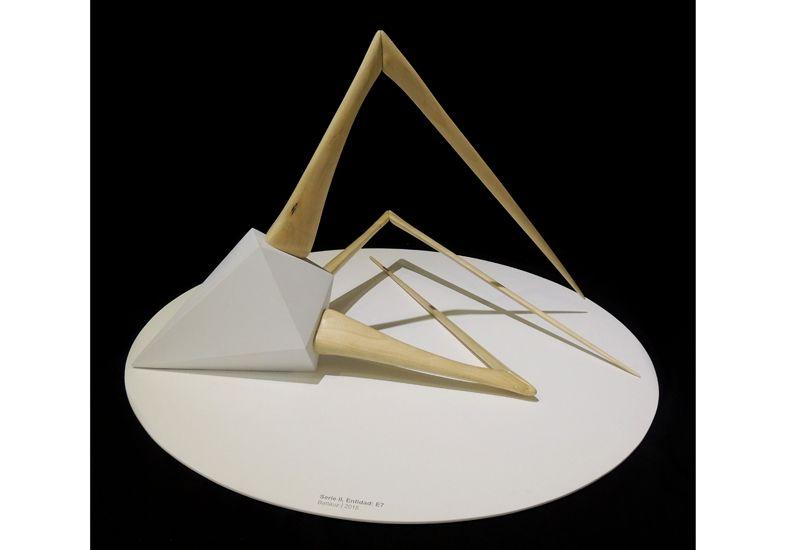 Ganadores. Las obras premiadas en los apartados escultura y pintura.