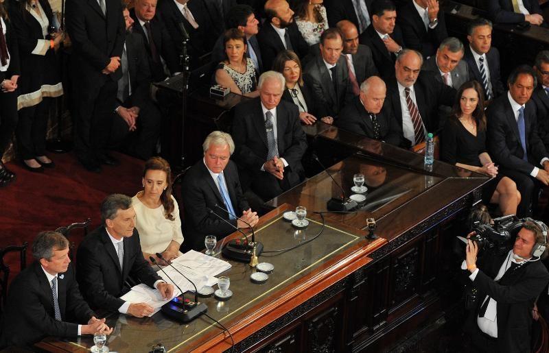 Bordet participó de la jura del presidente Macri