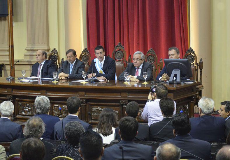 Es el tercer mandato del gobernador salteño