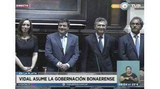 María Eugenia Vidal asumió como gobernadora bonaerense: No voy a dejarlos solos