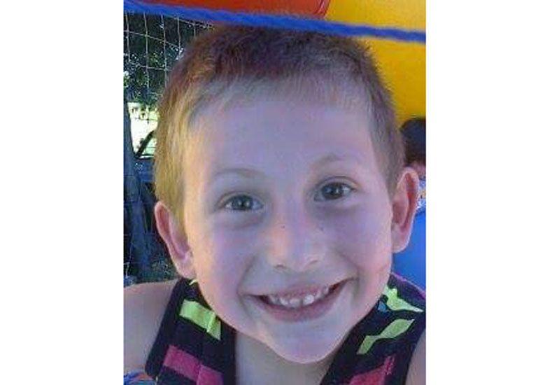 Bruno Perino Actis de 6 años.