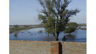 Alerta. La creciente llegará y dependerá de las precipitaciones.  Foto UNO/Santa Fe