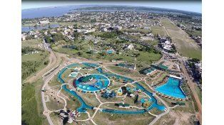 Gigante. El Parque le brindará a Federación un nuevo atractivo turístico para el verano.    Foto Gentileza/Turismo Federación