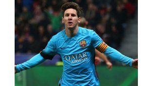 Messi llegó a los 80 goles en Champions League