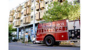Incendio en el primer piso del San Martín
