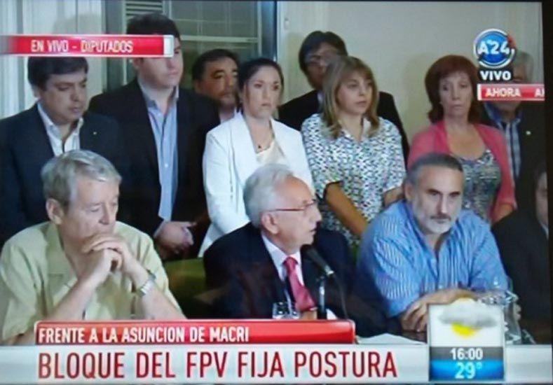 Diputados del FpV rechazaron el fallo de Servini de Cubría y no asistirán a la jura de Macri