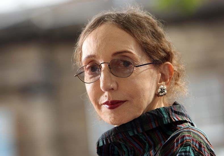 Perfil. A los 77 años Joyce Carol Oates mantiene intacto su amor por la literatura.