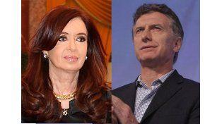 Cristina envió sus condolencias a Macri