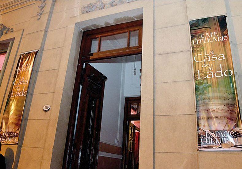 Espacio. El encuentro será en el bar cultural La Casa de al Lado.