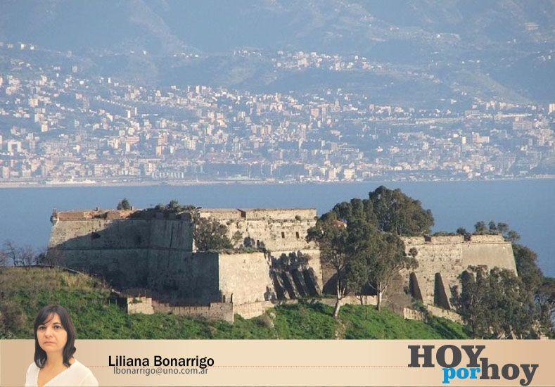 Rosa caminó más de 50 kilómetros hasta Forte Consagra solo para saber si su amor seguía vivo. (Foto: www.bandw.it)
