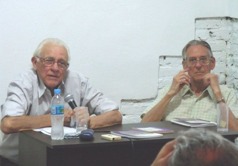 Juanjo Rossi y Juan Vilar