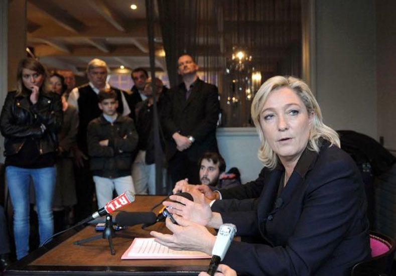 Marine Le Pen.  Foto: Télam