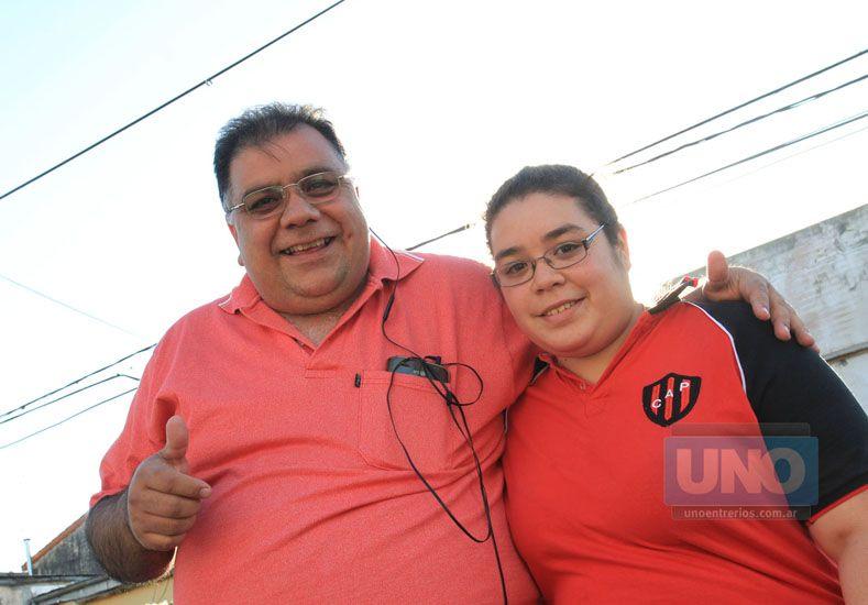 Los Ortega no querían perderse el pleito. Juan Carlos y María José.    Foto UNO/Juan Ignacio Pereira